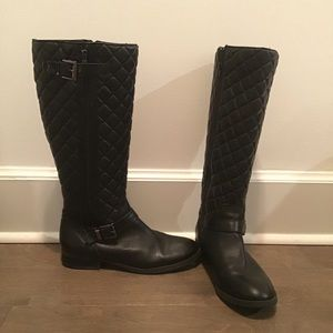 Vince Camuto Fredrica Quilted Boots Size 8.5 EUC